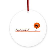 Nassau bahamas Ornament (Round)