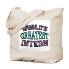 World's Greatest Intern Tote Bag