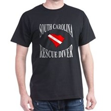 Funny Diver down T-Shirt