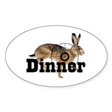 Small Game section Oval Bumper Stickers