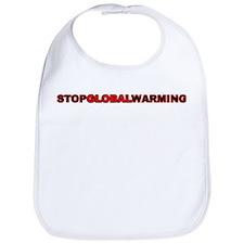 Stop GLobal Warming Bib