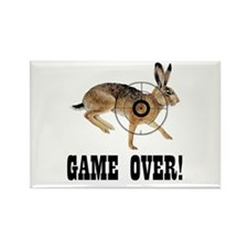 game over! Rectangle Magnet