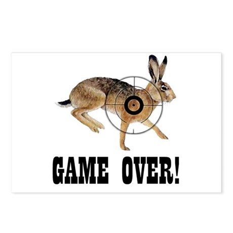 game over! Postcards (Package of 8)