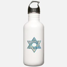 Gems and Sparkles Hanukkah Water Bottle