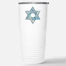 Gems and Sparkles Hanukkah Travel Mug