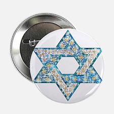 "Gems and Sparkles Hanukkah 2.25"" Button (10 pack)"