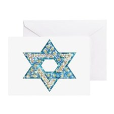 Gems and Sparkles Hanukkah Greeting Card