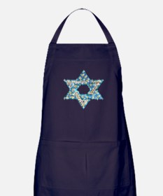 Gems and Sparkles Hanukkah Apron (dark)