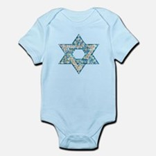 Gems and Sparkles Hanukkah Infant Bodysuit