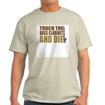 Bass Clarinet:Touch/Die Ash Grey T-Shirt