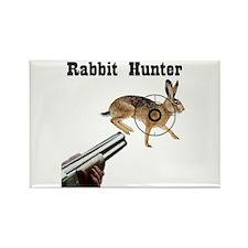 Rabbit Hunter Rectangle Magnet