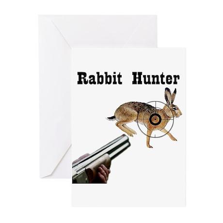 Rabbit Hunter Greeting Cards (Pk of 10)