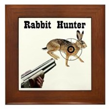 Rabbit Hunter Framed Tile