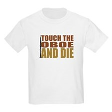 Oboe:Touch/Die Kids T-Shirt