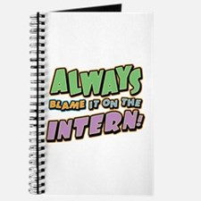 Blame the Intern Journal