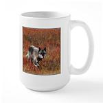 Alpha Male Wolf Large Mug