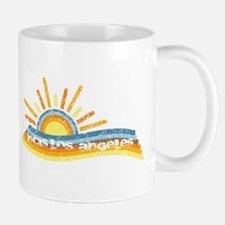NCISLA Retro Distressed Mug