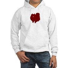 Just Pomeranian (Red) Hoodie