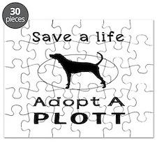 Adopt A Plott Dog Puzzle