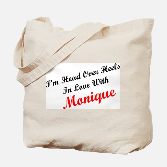 In Love with Monique Tote Bag
