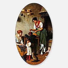 Eugene de Blaas: A Helping Hand Decal