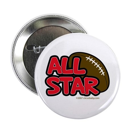All Star Football Player Button