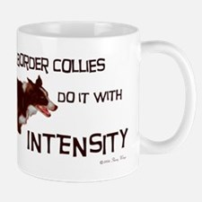 Border Collie Intensity Mug