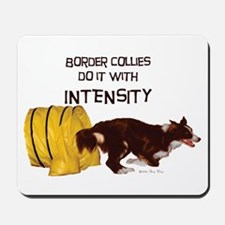 Border Collie Intensity Mousepad