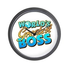 World's Greatest Boss Wall Clock