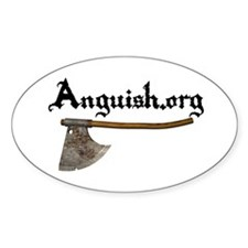 Anguish.org Logo Oval Decal
