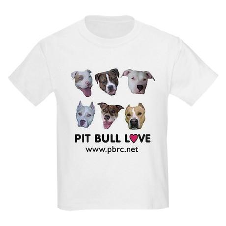 Pitbull Love Kids T-Shirt