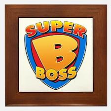 Super Boss Framed Tile