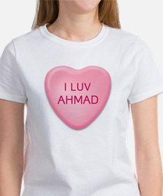 I Luv AHMAD Candy Heart Tee