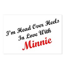 In Love with Minnie Postcards (Package of 8)