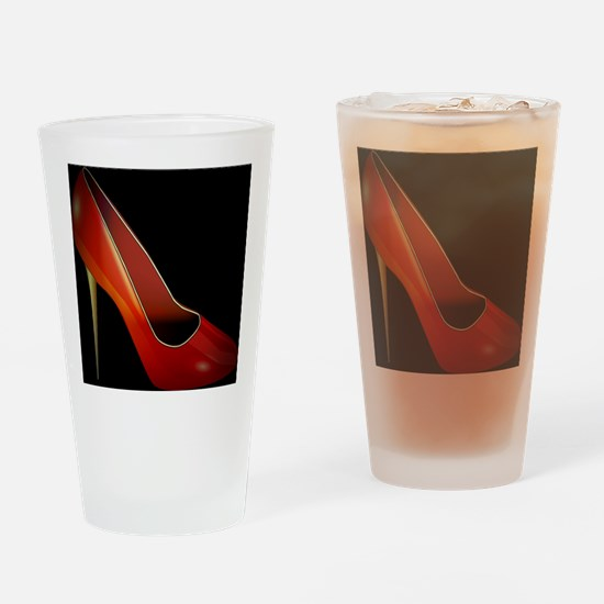high heel Drinking Glass