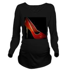 high heel Long Sleeve Maternity T-Shirt