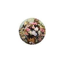 Van Gogh - Still Life Vase with Roses Mini Button