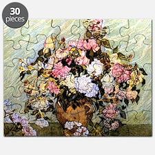 Van Gogh - Still Life Vase with Roses Puzzle