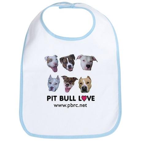 Pitbull Love Bib