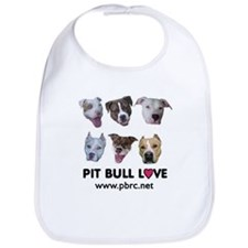 Pitbull Love Bib