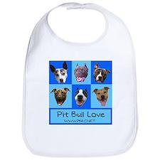 Pit Bull Love Bib