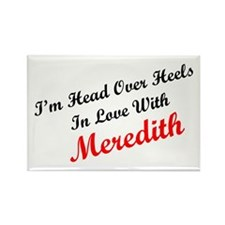 In Love with Meredith Rectangle Magnet