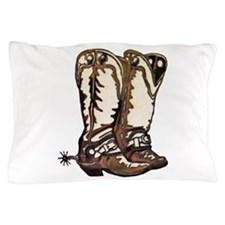 Boots and Spurs Pillow Case
