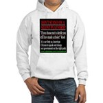 Don't Stand on a Silent Platform Hooded Sweatshirt