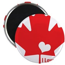 I Love Canada Magnets