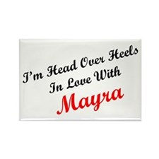 In Love with Mayra Rectangle Magnet
