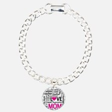 Mom is Love - Birthday,  Bracelet