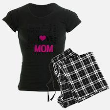 Mom is Love - Birthday, Moth Pajamas