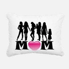 Mom Rectangular Canvas Pillow