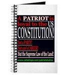 A Patriot is Loyal to the Constitution Journal